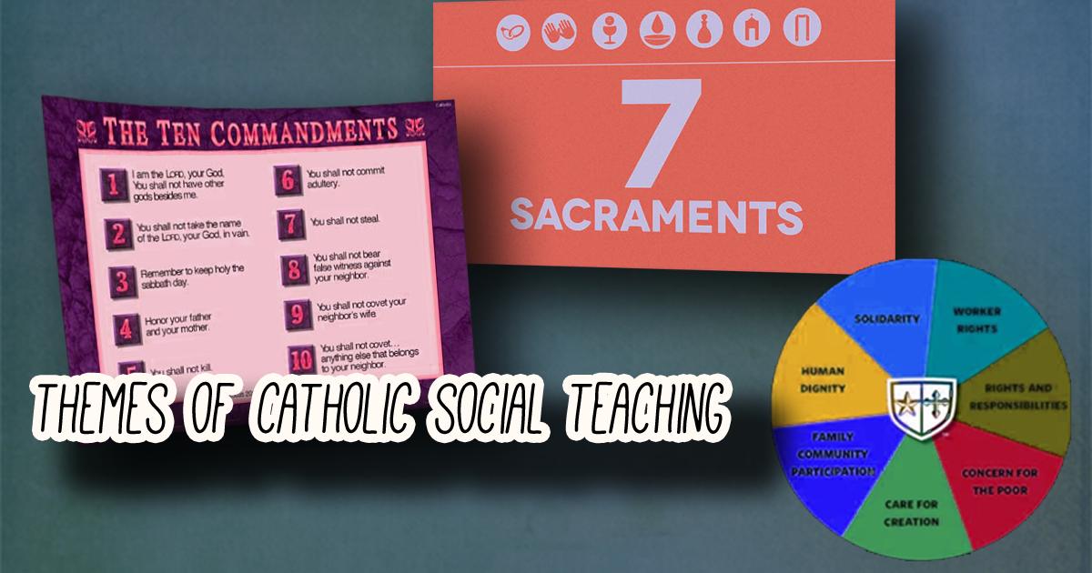 10 Principles Catholic Social Teaching