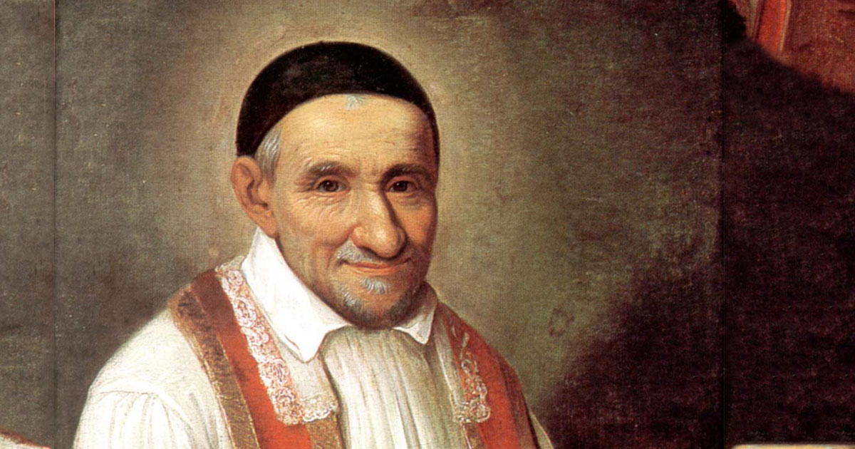 feast day of st  vincent de paul  september 27