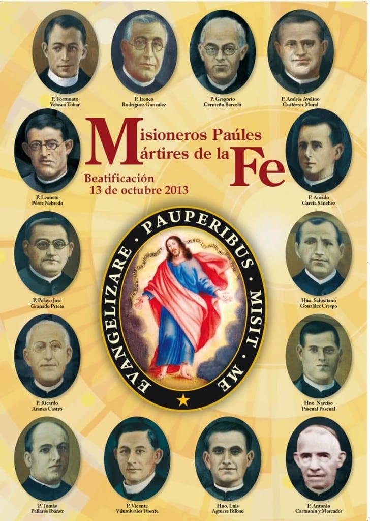 Martyrs Spanish Civil War - CMs