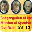 Beatification of Congregation of the Mission Priests and Brothers: Spanish Civil War
